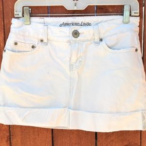 American Eagle Denim Mini Skirt